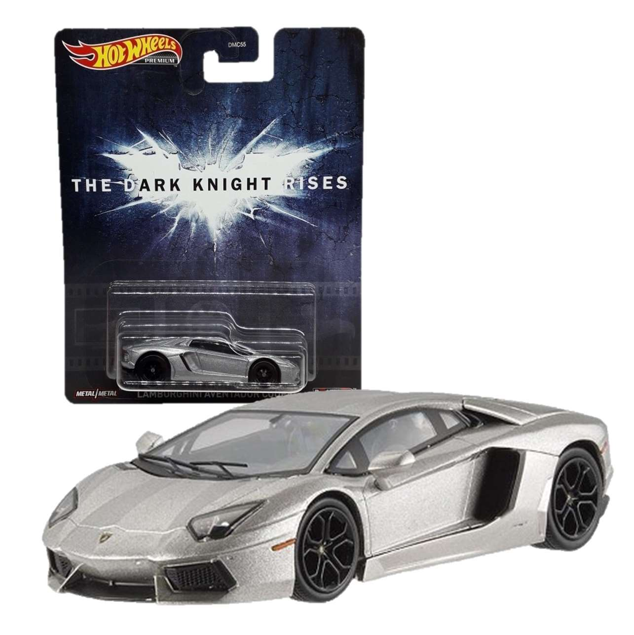 Lamborghini Aventador Coupé The Dark Knight Rises Hot Wheels
