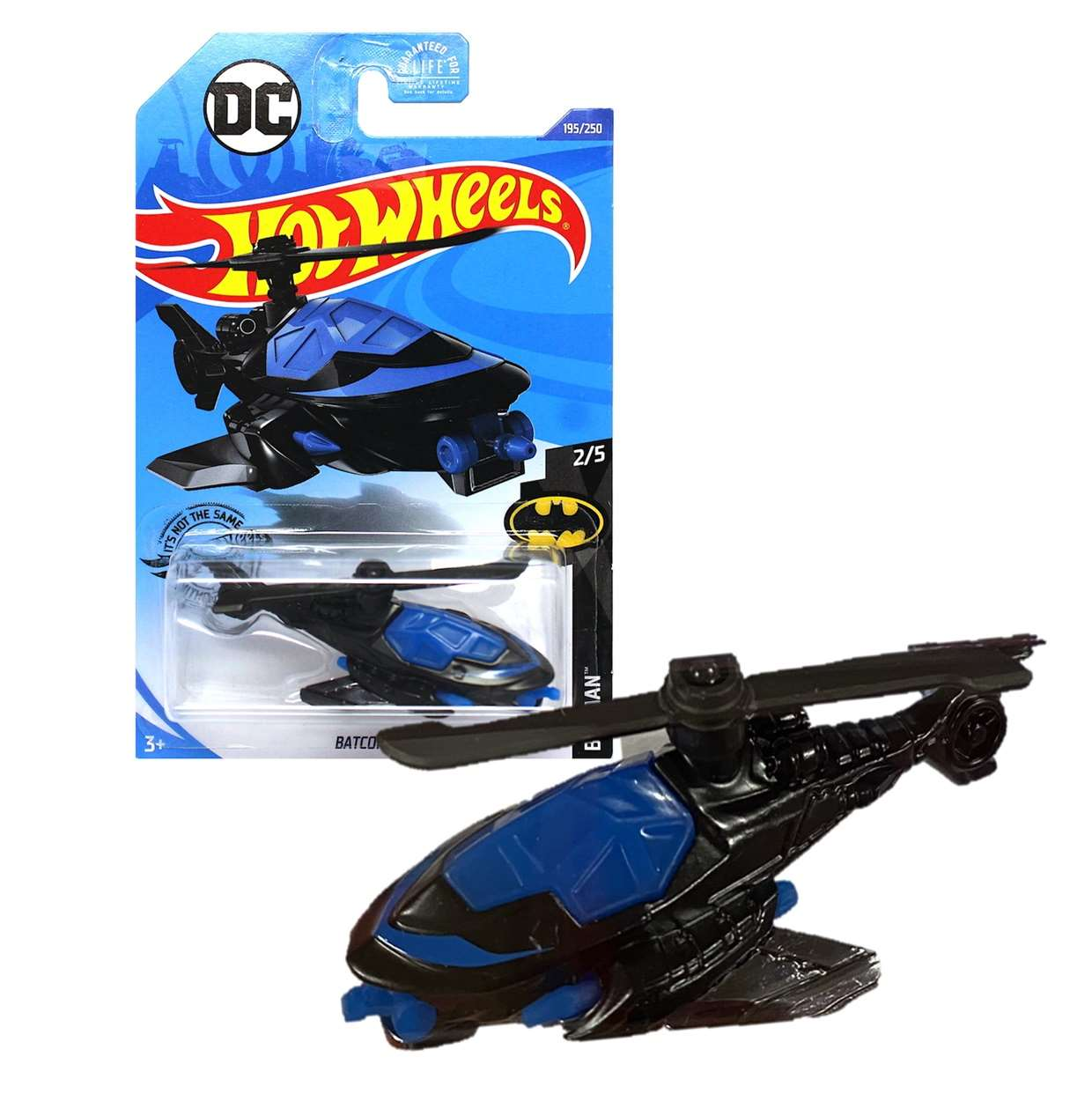 Batcopter G2n17 Batman Dc Comics 2/5 Hot Wheels