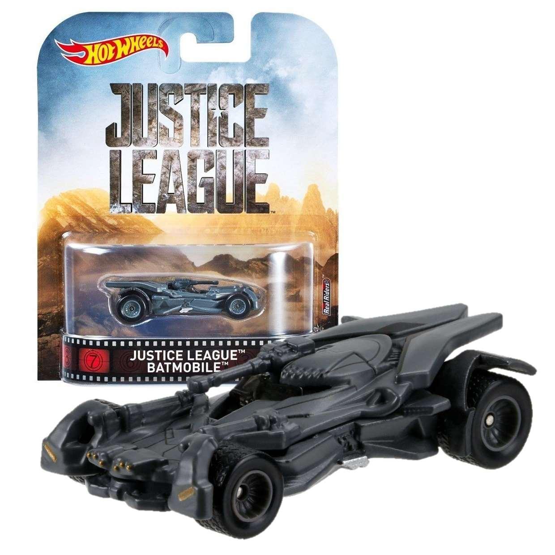 Batmobile Justice League Metal Real Rides Hot Wheels