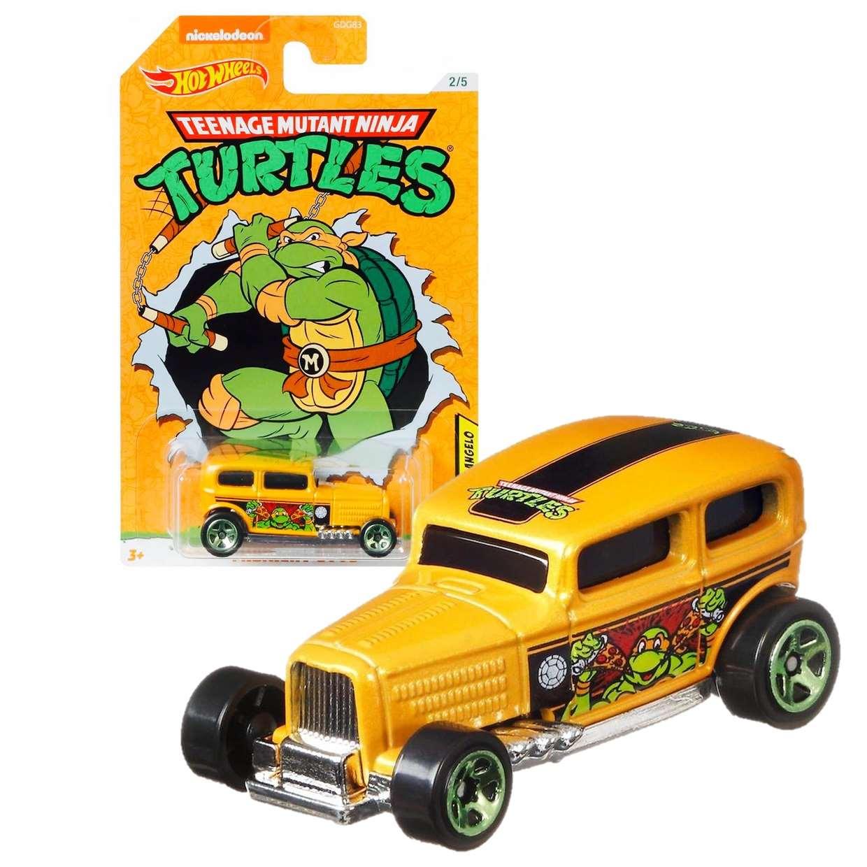 Michelangelo Midnight Otto Mutant Ninja Turtles Hot Wheels