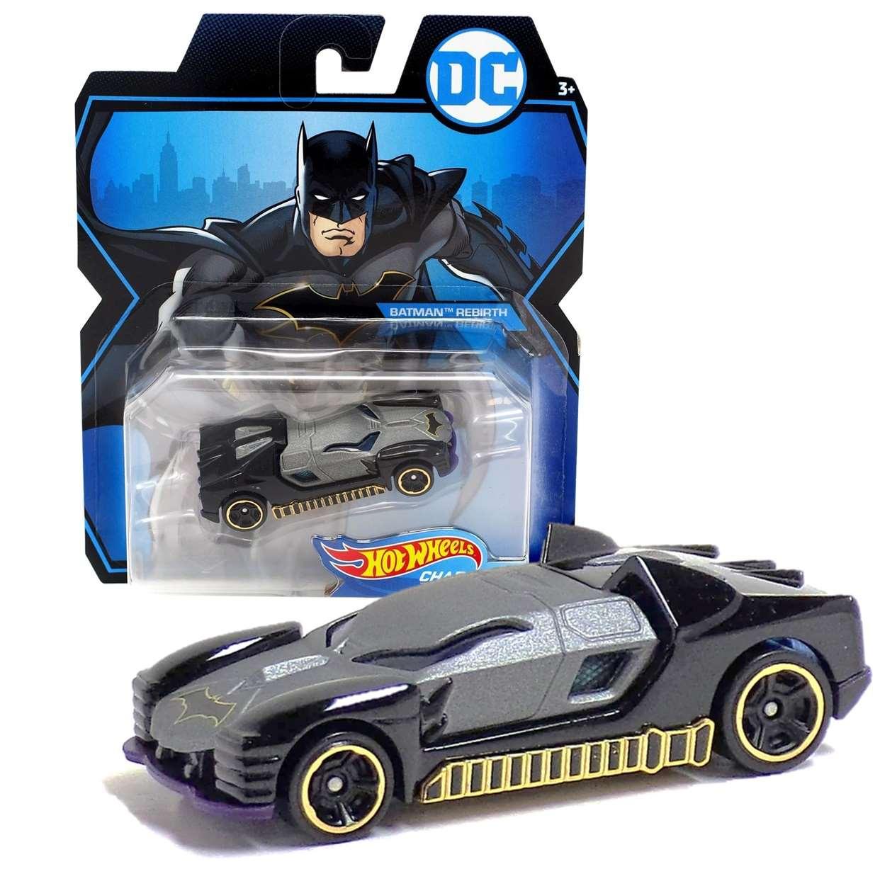 Batman Rebirth Gmh94 Hot Wheels Character Cars Die Cast