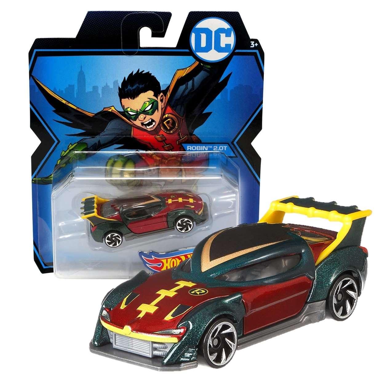 Robin 2.0 T Gmh95 Hot Wheels Character Cars Die Cast