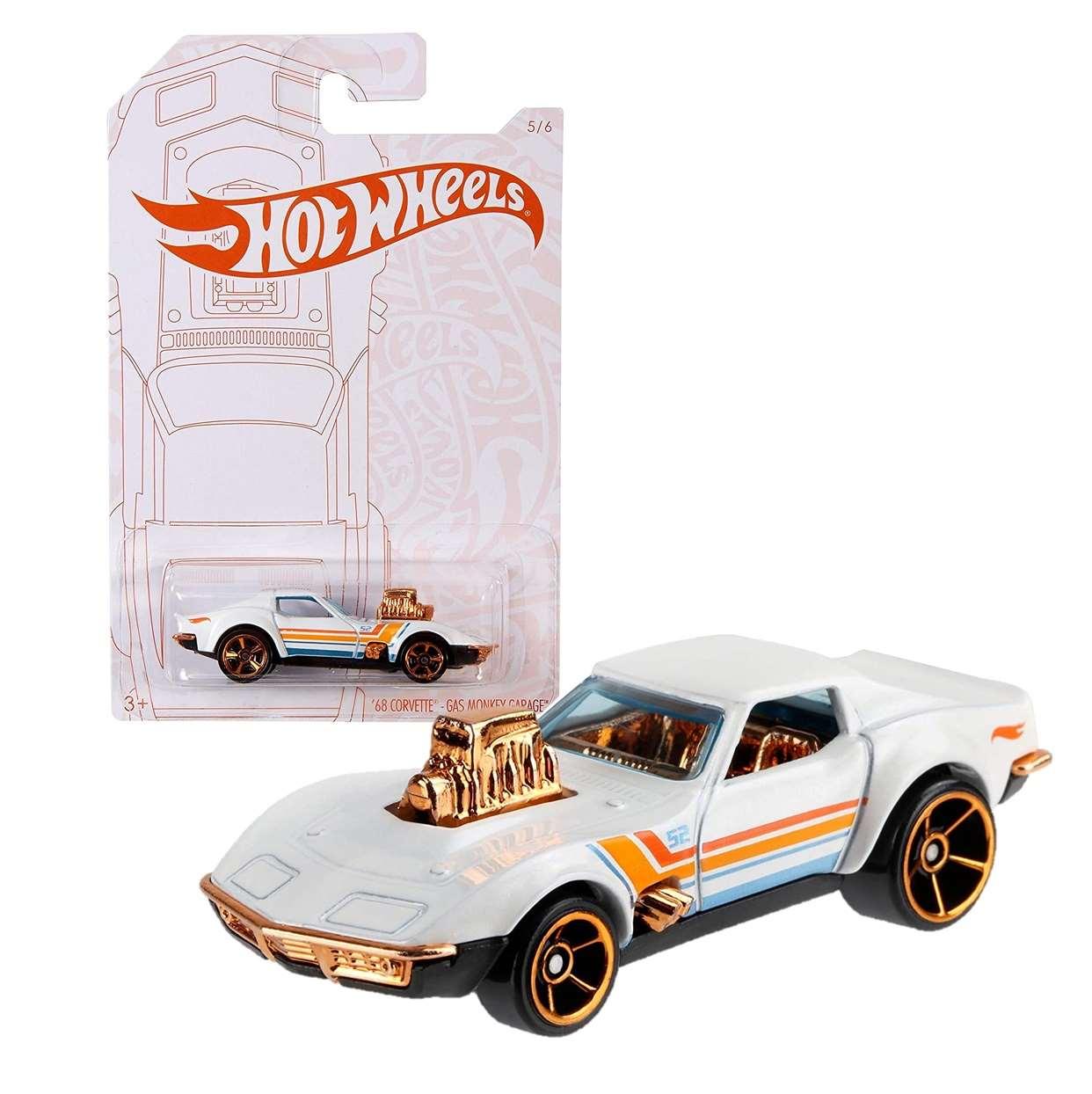 68 Corvette Gas Monkey Garage 5/6 Hot Wheels Gjw52/k910 1l