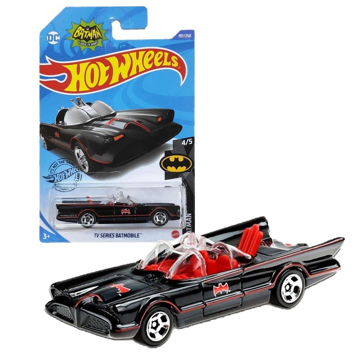 Batmobile Tv Series 4/5 Dc Comics Hot Wheels 197/250